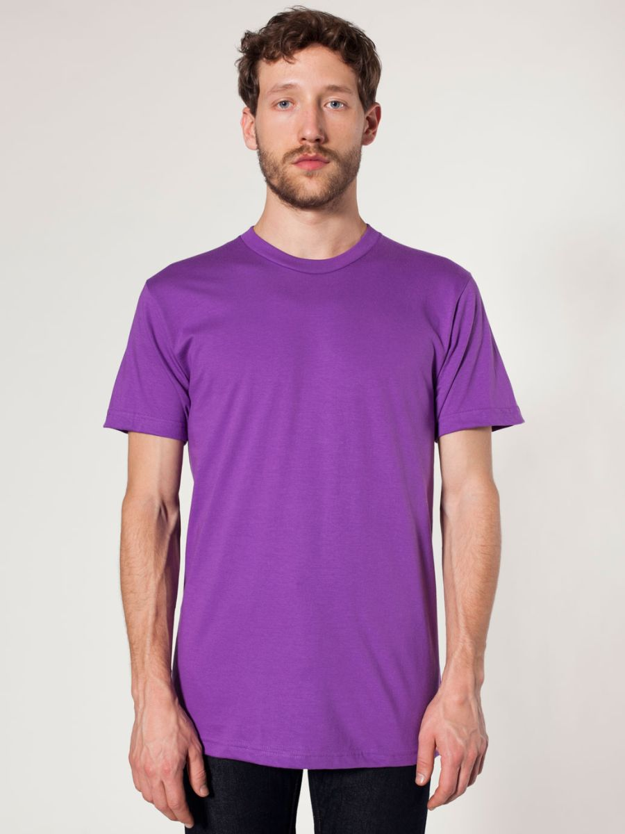 American Apparel Mens Jersey T Shirts 2001 Wholesale Blank