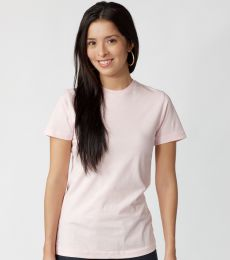 Tultex 0216 / Misses Fine Jersey Tee with a Tear-Away Tag