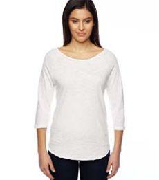02824J1 Alternative Ladies' Washed Minor League Baseball T-Shirt