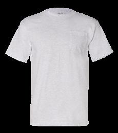 7100 Bayside Adult Short-Sleeve Tee with Pocket