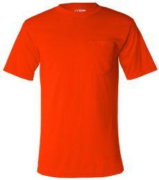 Bayside 1725 USA-Made 50/50 Short Sleeve T-Shirt with a Pocket