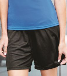 7216 Badger Ladies' Mesh/Tricot 5-Inch Shorts