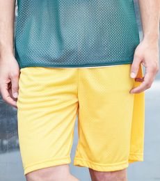 7209 Badger Adult Mesh/Tricot 9-Inch Shorts
