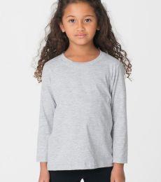 2107 American Apparel Kids Fine Jersey Long Sleeve T