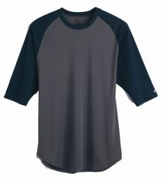 4133 Badger Adult Performance 3/4 Sleeve Raglan-Sleeve Baseball Undershirt
