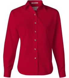 FeatherLite 5283 Women's Long Sleeve Stain-Resistant Tapered Twill Shirt