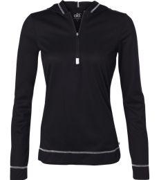 W3002 All Sport Ladies Half Zip Hoodie