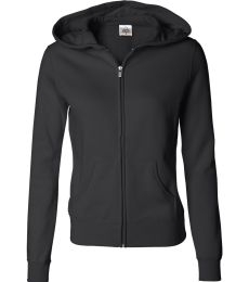 Independent Trading Co. - Juniors' Full-Zip Hooded Sweatshirt - AFX25FZ