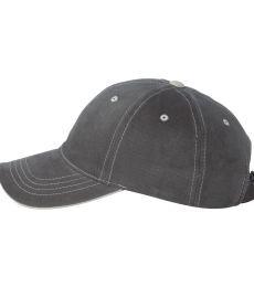 6161 Yupoong Contrast Color Stitched Cap