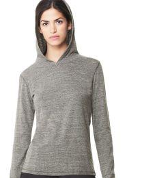 W3101 All Sport Ladies Triblend Thumbhole Hooded T-Shirt
