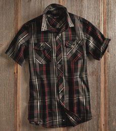 B9202 Burnside - Plaid Short Sleeve Shirt