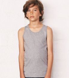 BELLA 3480Y Unisex Youth Cotton Tank Top