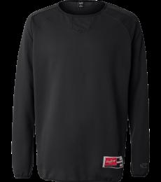 Rawlings 9705 Long Sleeve Flatback Mesh Fleece Pullover