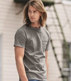 783 Anvil Adult Midweight Cotton Pocket Tee