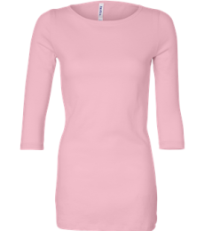 BELLA 6515 Ladies Boatneck T-Shirt