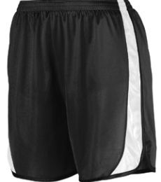 Augusta Sportswear 328 Youth Wicking Track Short with Side Insert