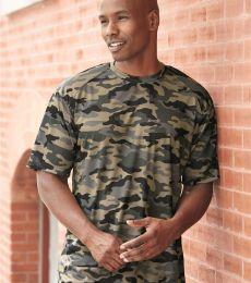 4181 Badger  Camo Short Sleeve T-Shirt