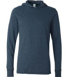 BELLA+CANVAS 3512 Unisex Jersey Hooded T-Shirt