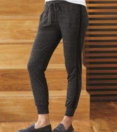 2822 Alternative Apparel Women's Stripe Jogger Pant