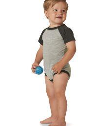 4430 Rabbit Skins Fine Jersey Infant Baseball Raglan Bodysuit