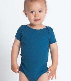 4001ORG American Apparel Organic Infant Baby Rib Short Sleeve One-Piece