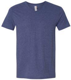6752 Anvil  Triblend V-Neck T-Shirt