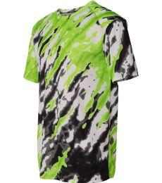 4182 Badger  Tie-Dri Short Sleeve T-Shirt