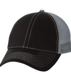 7641 Mega Cap Heavy Cotton Twill Front Trucker Cap