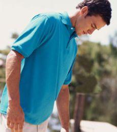 437 Jerzees Men's 5.6 oz., 50/50 Jersey Polo with SpotShield™