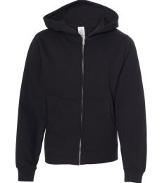 SS4001YZ Independent Trading Co. Youth Midweight Full-Zip Hooded Sweatshirt