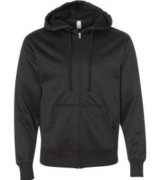 EXP444PZ Independent Trading Co. Poly-Tech Full-Zip Hoodie