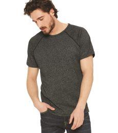 2050 Next Level Men's Mock Twist Raglan T-Shirt