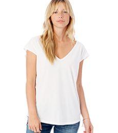 Alternative 4864 Flirt Satin Jersey T-Shirt