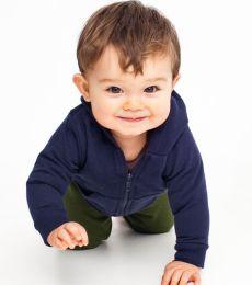5097 American Apparel Infant Fleece Zip-Up Hoody