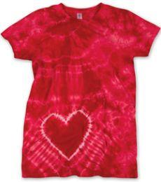55 Dyenomite Tie-Dye Ladies' Heart Tee