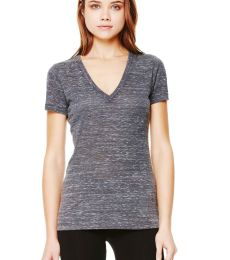 BELLA 6035 Womens Deep V-Neck T-shirt