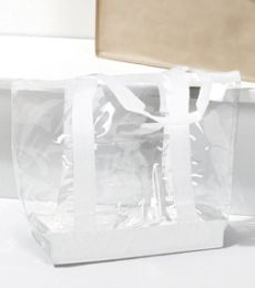 7012 UltraClub Game Day Clear Tote