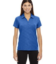78659 Ash City - North End Sport Red Ladies' Maze Performance Stretch Embossed Print Polo