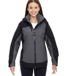 78663 Ash City - North End Sport Red Ladies' Alta 3-in-1 Seam-Sealed Jacket with Insulated Liner