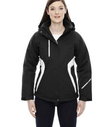 78664 Ash City - North End Sport Red Ladies' Apex Seam-Sealed Insulated Jacket