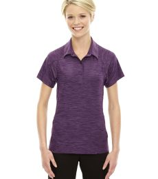 78668 Ash City - North End Sport Red Ladies' Barcode Performance Stretch Polo