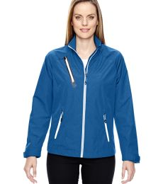 78694 Ash City - North End Sport Red Ladies' Frequency Lightweight Mélange Jacket