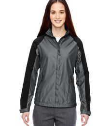 78695 Ash City - North End Sport Blue Ladies' Borough Lightweight Jacket with Laser Perforation