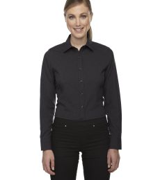78802 Ash City - North End Sport Blue Ladies' Central Ave Mélange Performance Shirt