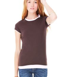 BELLA 8102 Ladies Sheer 2 in 1 T-shirt
