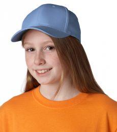 8122 UltraClub® Youth Classic Cut Cotton Twill Cap