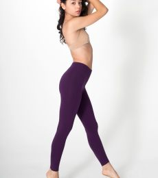 8328 American Apparel Womens Cotton Spandex Jersey Legging