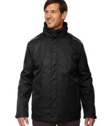 88205T Ash City - Core 365 Men's Tall Region 3-in-1 Jacket with Fleece Liner