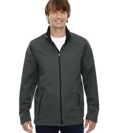 88655 Ash City - North End Sport Red Men's Splice Three-Layer Light Bonded Soft Shell Jacket with Laser Welding