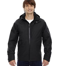 88685 Ash City - North End Sport Blue Men's Skyline City Twill Insulated Jacket with Heat Reflect Technology